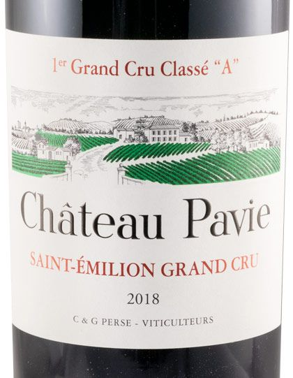 2018 Château Pavie Saint-Émilion red