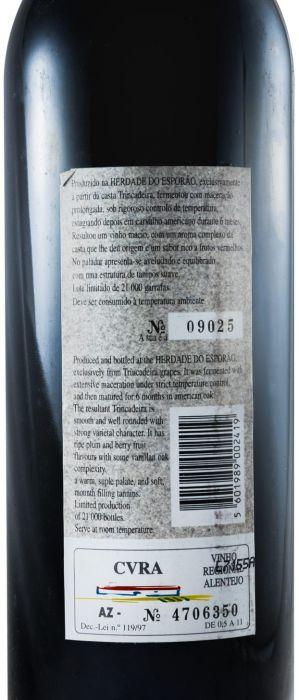1996 Herdade do Esporão Trincadeira tinto