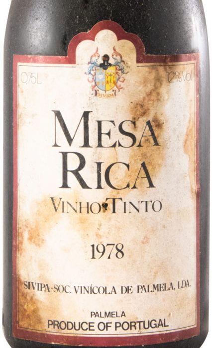 1978 Mesa Rica Palmela red