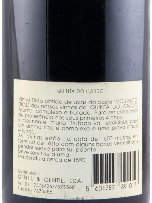 1992 Quinta do Cardo красное