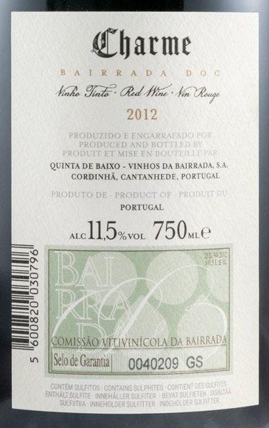 2012 Niepoort Charme Bairrada tinto