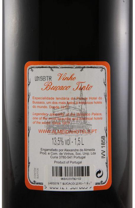 2015 Buçaco tinto 1,5L