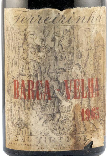 1965 Barca Velha tinto (nível baixo)