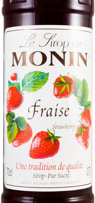 Xarope Fraise Monin Morango