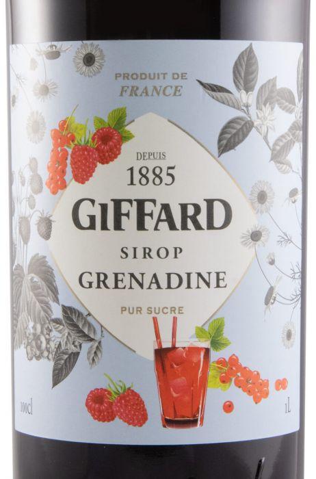 Xarope Grenadine Giffard 1L