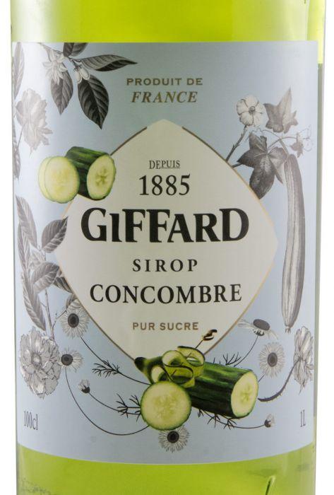 Xarope Cucumber Giffard 1L