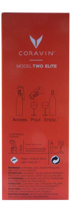 Coravin Wine Preservation System Model 2 Elite Piano Black