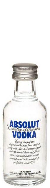 Miniatura Vodka Absolut