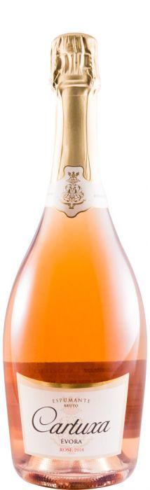 カルトゥーシャ・スパークリング・ワイン・ブリュット・ロゼ・2014 年