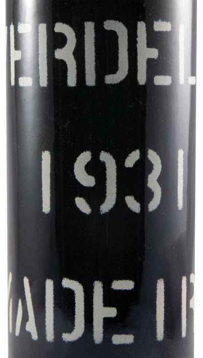 1931 Madeira Barbeito Verdelho MBV