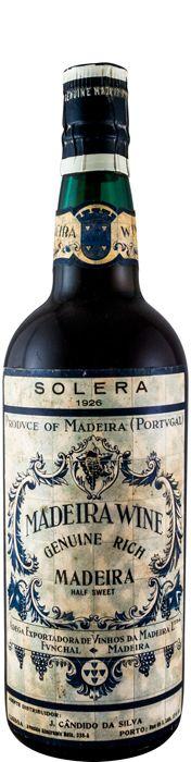 ワイン協同組合・ソレラやや甘口 マデイラ 1926年
