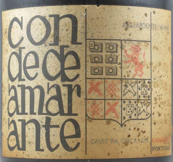 Агуарденте Conde de Amarante 930 мл