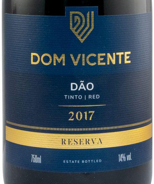 2017 Dom Vicente Touriga Nacional e Alfrocheiro Reserva tinto