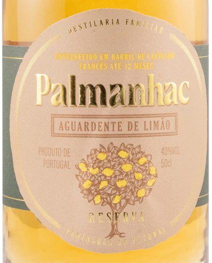 Aguardente de Limão Palmanhac 12 meses