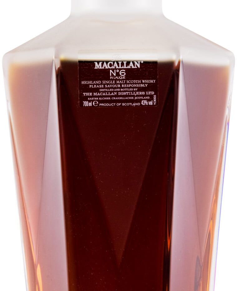 Macallan N.º 6 in Lalique Decanter