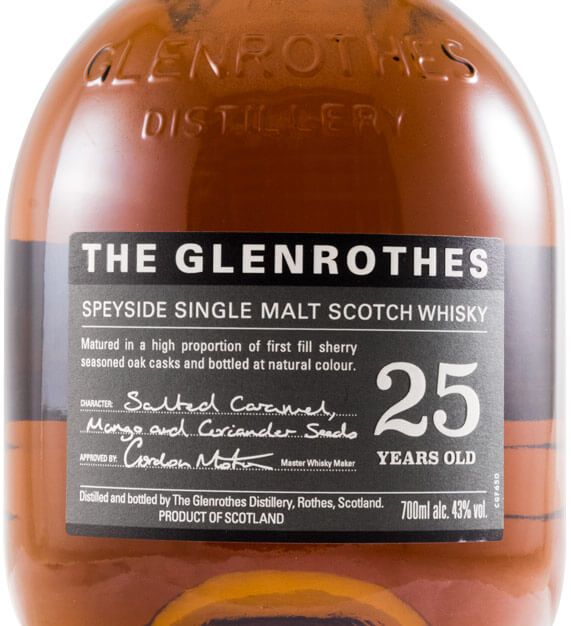Glenrothes 25 anos