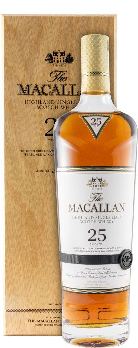 Macallan Sherry Oak 25 anos