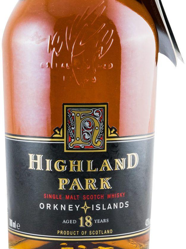 ハイランドパーク・18年(オールドボトル)
