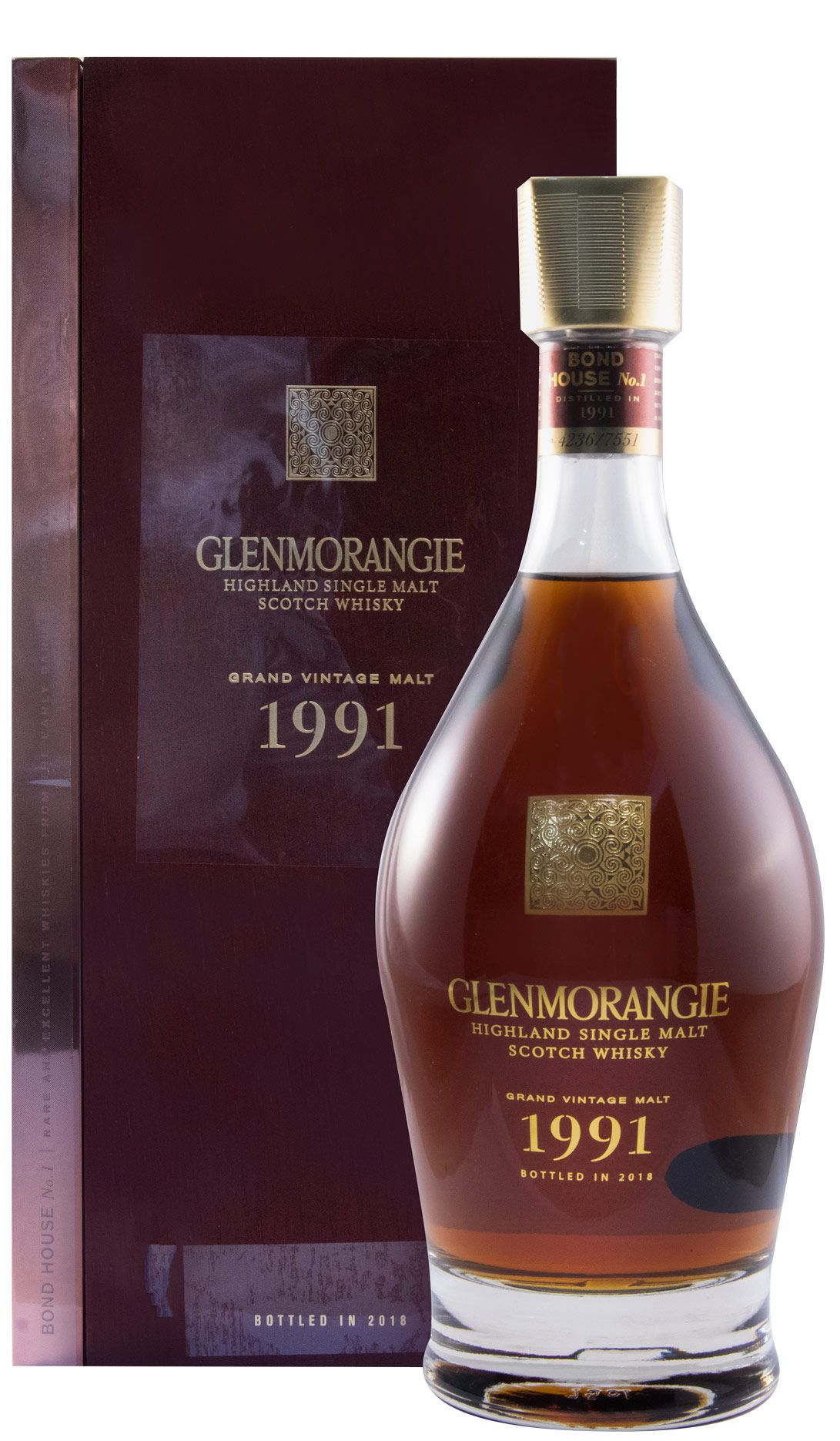 1991 Glenmorangie Grand Vintage Malte 75cl