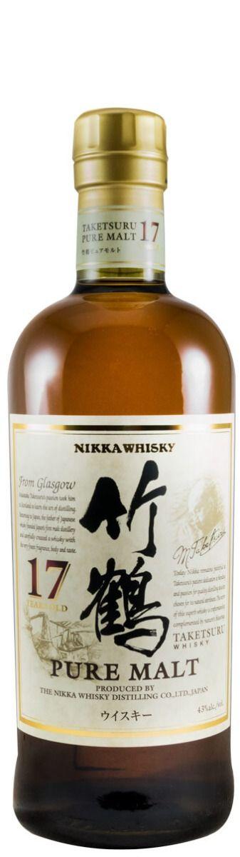 Conjunto Nikka Taketsuru (17, 21 e 25 anos)