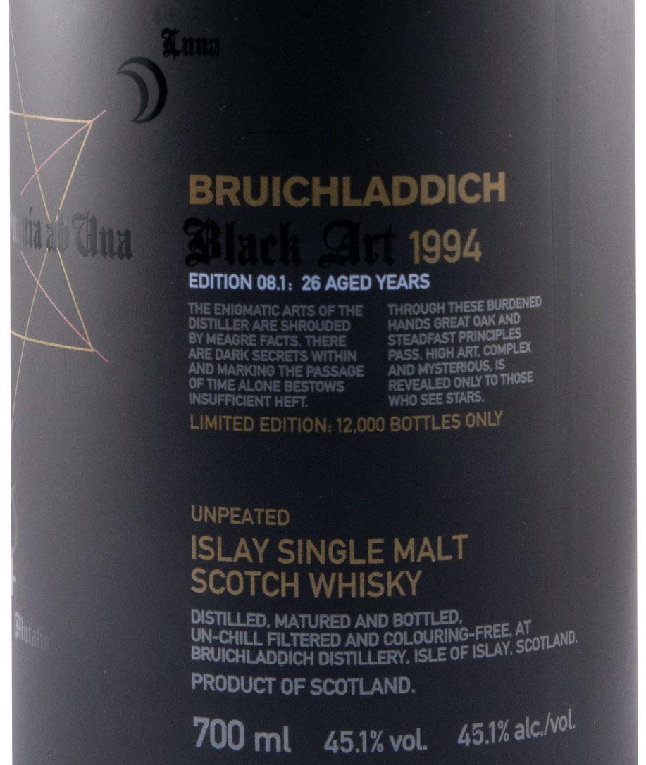 1994 Bruichladdich Black Art Edition 08.1 26 anos