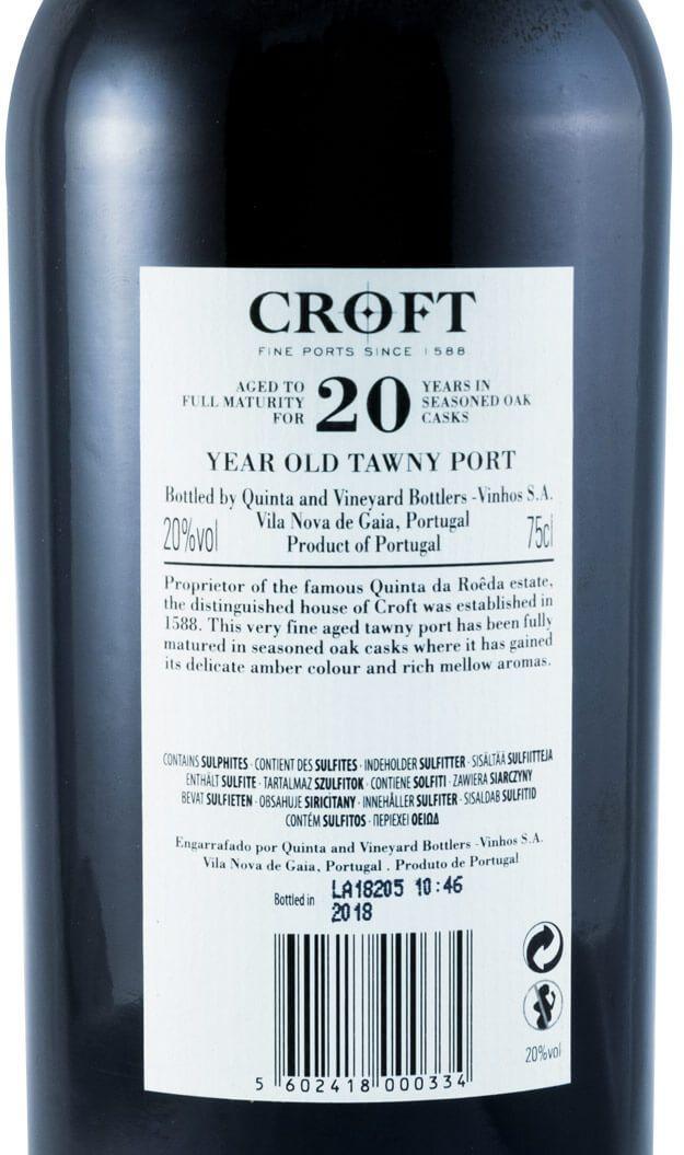 クロフト・20年・ポート