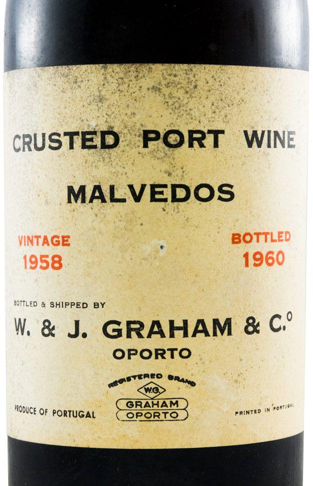 1958 Graham's Quinta dos Malvedos Crusted Porto