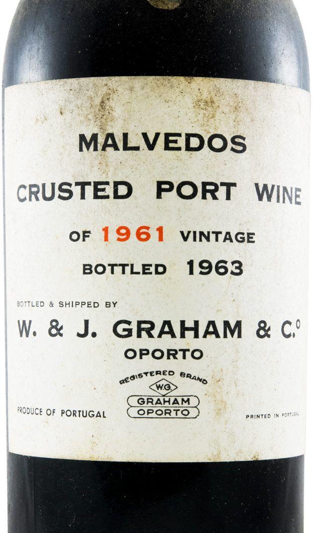 1961 Graham's Quinta dos Malvedos Crusted Porto