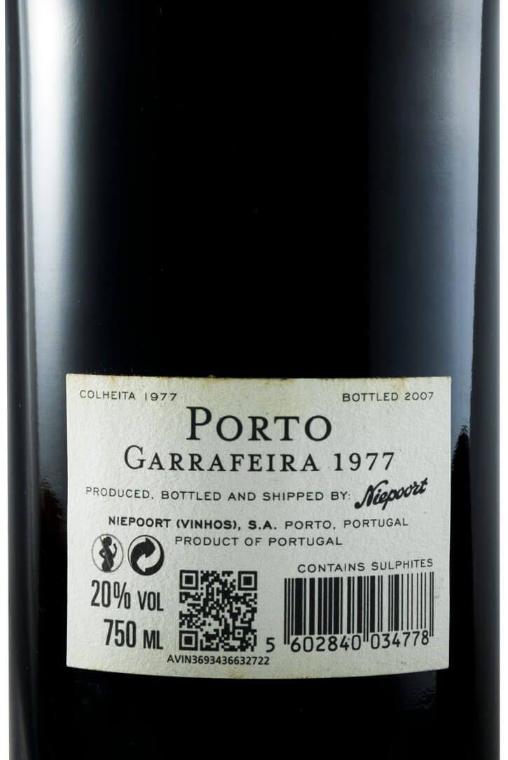 1977 Niepoort Garrafeira Porto