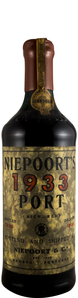 1933 Niepoort Garrafeira Porto