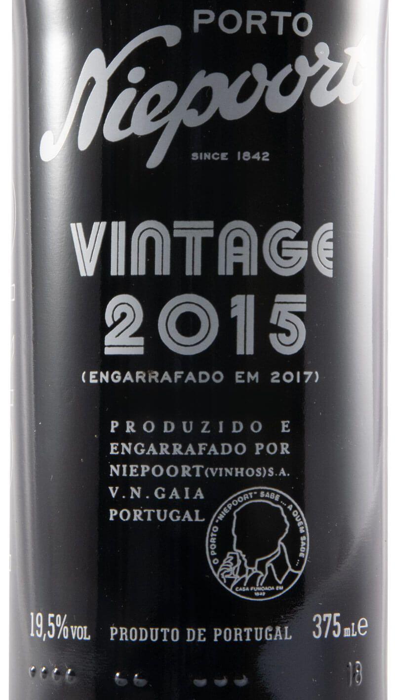 2015 Niepoort Vintage Port 37,5cl