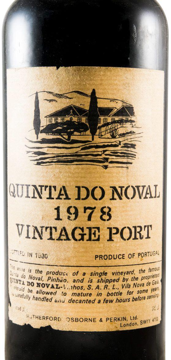 1978 Noval Vintage Porto