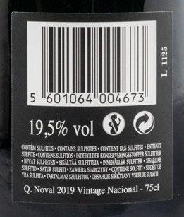 2019 Noval Vintage Nacional Porto