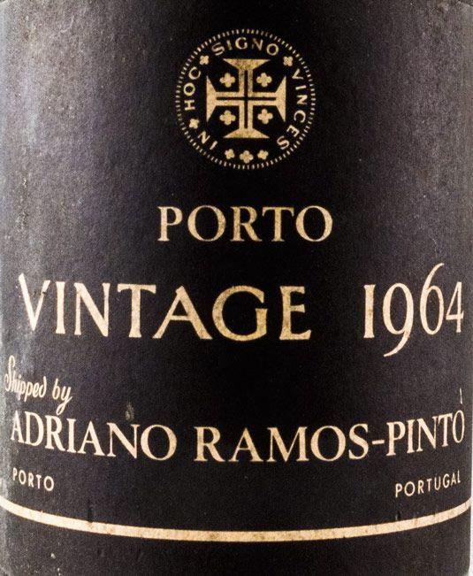1964 Ramos Pinto Vintage Port