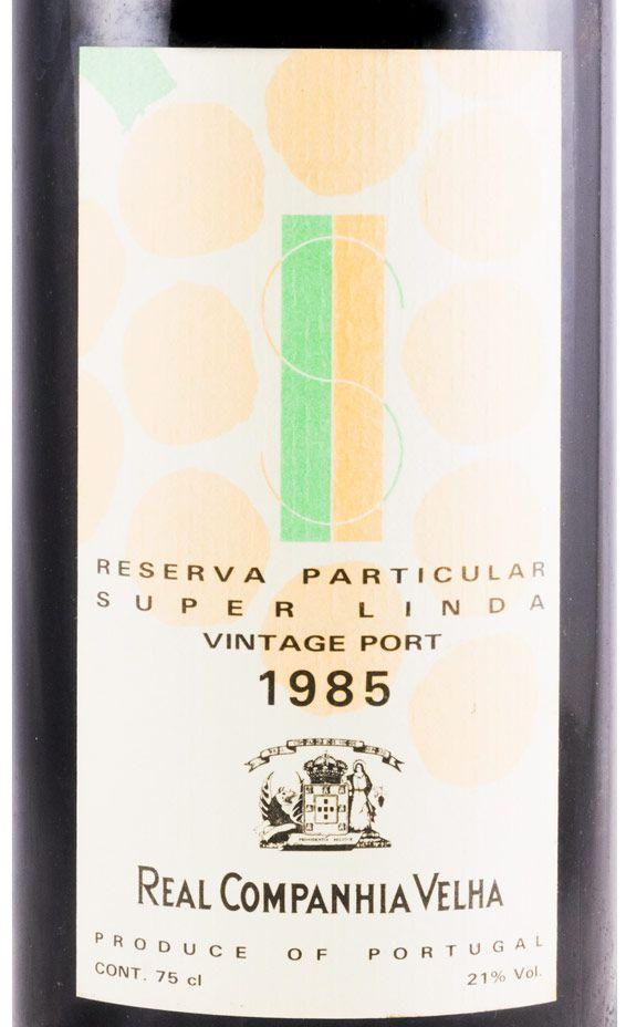 1985 Real Companhia Velha Vintage Porto