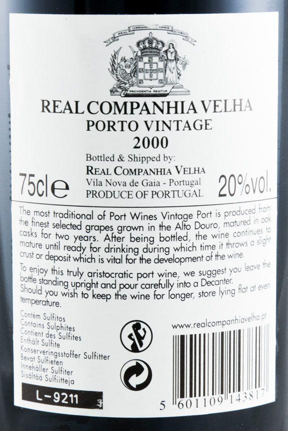 2000 Real Companhia Velha Vintage Porto