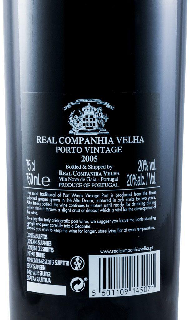 2005 Real Companhia Velha Vintage Porto