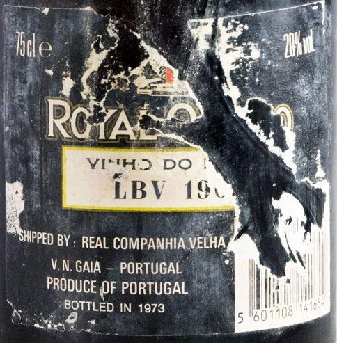 1967 Real Vinicola LBV Портвейн