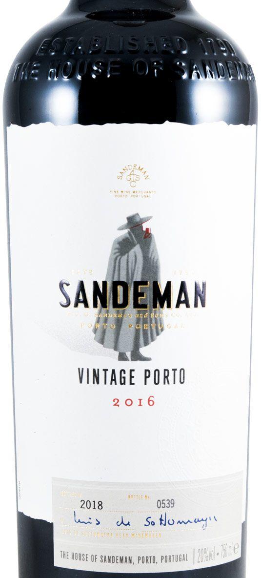 2016 Sandeman Vintage Porto