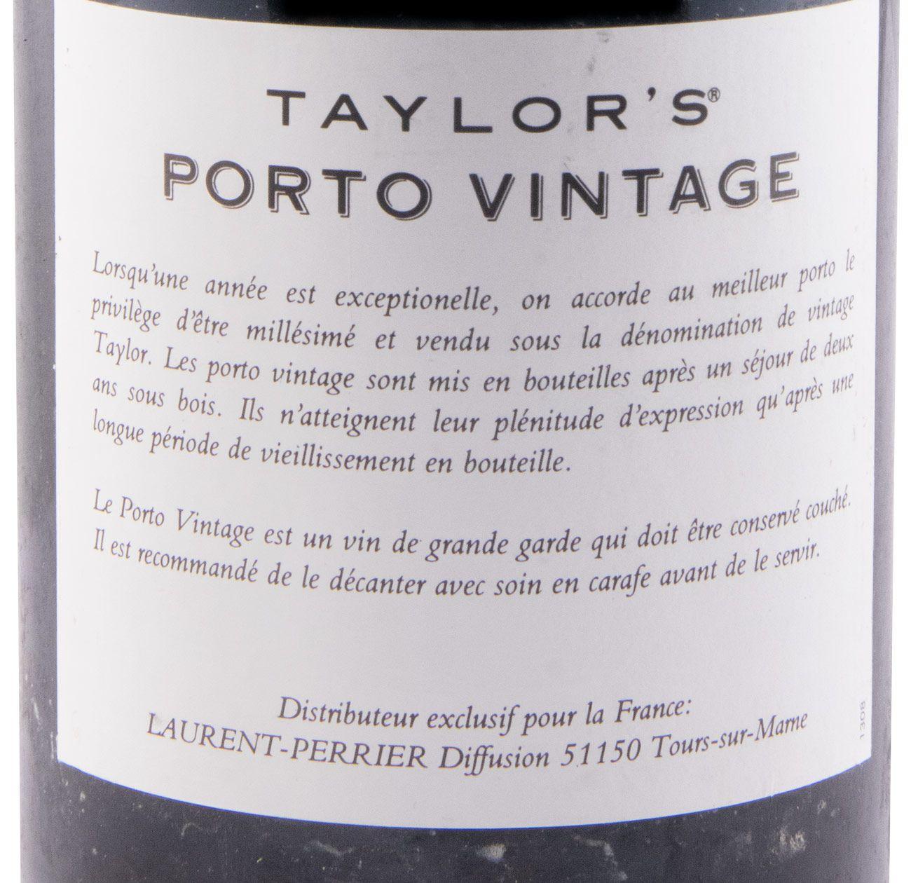 1994 Taylor's Vintage Porto