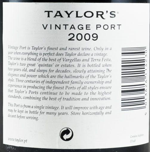 2009 Taylor's Vintage Porto