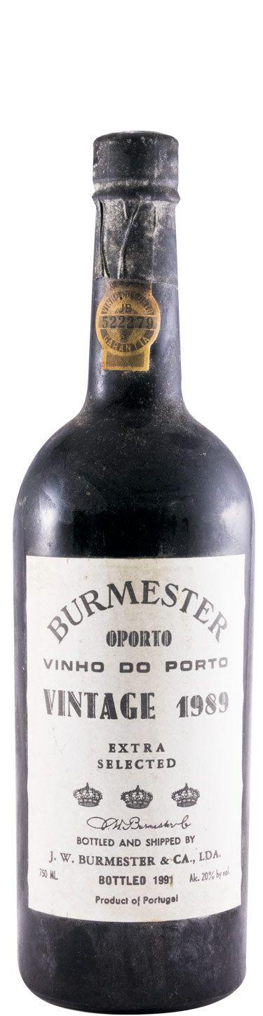 1989 Burmester Vintage Портвейн