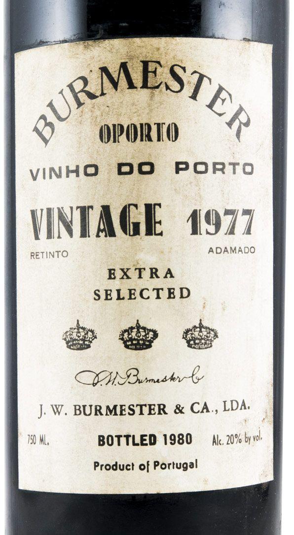 1977 Burmester Vintage Портвейн