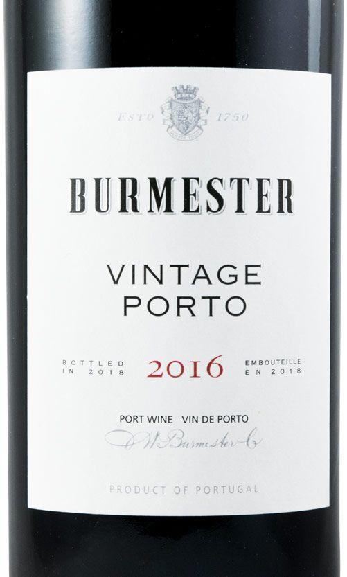 2016 Burmester Vintage Портвейн