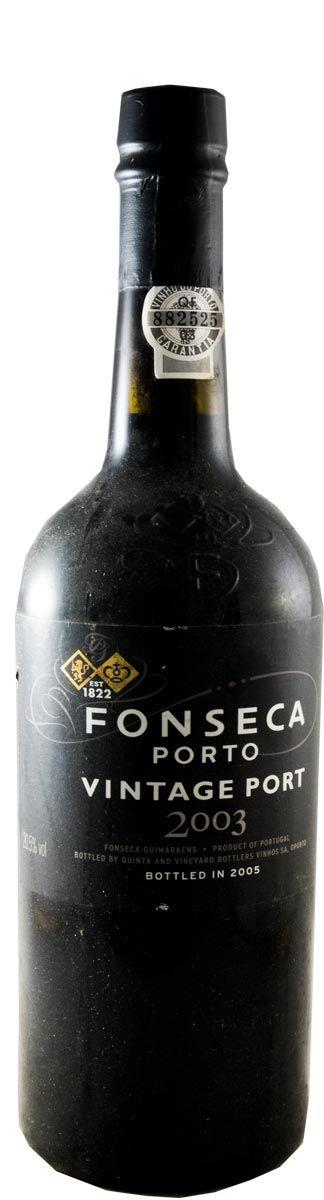 フォンセカ・ヴィンテージ ポート 2003年