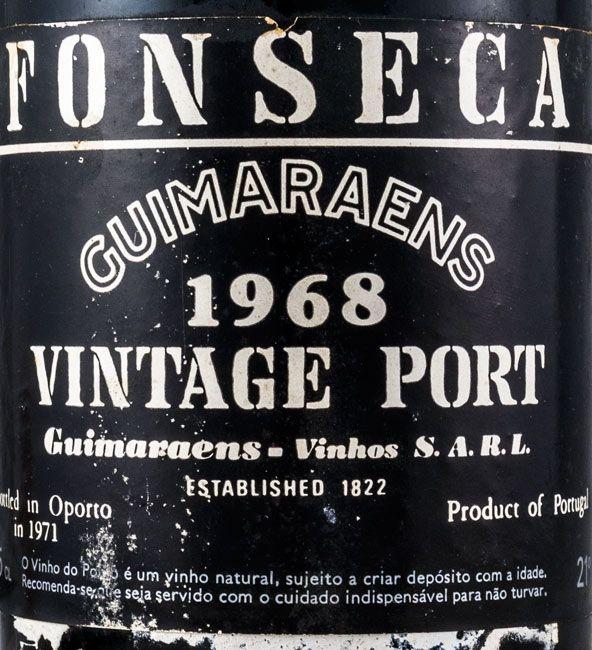 1968 Fonseca Guimaraens Vintage Porto