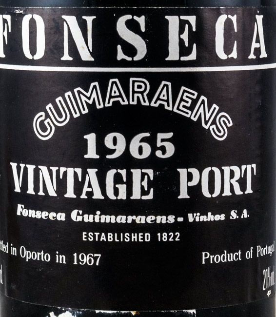 1965 Fonseca Guimaraens Vintage Porto
