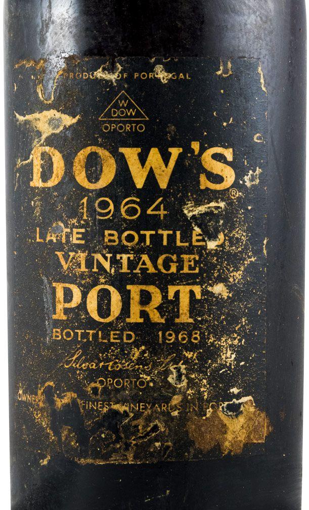 1964 Dow's LBV Porto