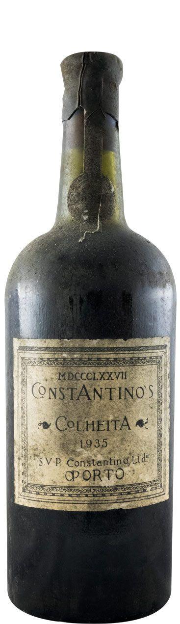 コンスタンティノ・収穫 ポート 1935年