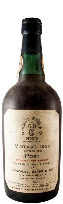 ゴンザレス・ビアス・ヴィンテージ ポート 1932年